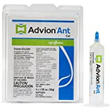 4 Tubes Dupont Advion Ant Gel Bait w/ 1 Plunger (30 grams per Tube) ~~ Kill Argentine , Big Headed , Carpenter , Cornfield , Crazy , Field , Ghost , Harvester , Honey , Little Black , Odorous House , Pavement , Pharaoh , Pyramid , Red Imported Fire Ant , Rover , Thief and White Footed ~ Better then Maxforce Intice & Terro Best Pest Control for Ants On the Market !! 6666305