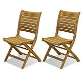 Product review for Amazonia Teak Dublin 2-Piece Teak Folding Chairs
