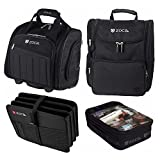 ZUCA Professional's Travel Bundle: Business Backpack + Document Organizer + Skipper Laptop Bag +Utility Pouch