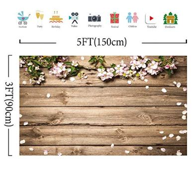 Allenjoy-5x3ft-Vinyl-Rustic-Wood-Wedding-Flowers-Floral-Backdrop-Wooden-Texture-Board-Floor-Wall-Photography-Backgrounds-Bridal-Shower-Baby-Shower-Birthday-Party-Banner-Photo-Studio-Props