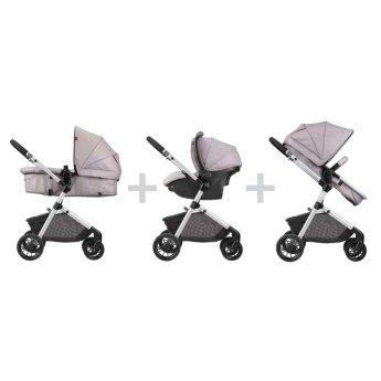 Image result for Evenflo Pivot Modular Travel System with SafeMax Infant Car Seat and Stroller Set