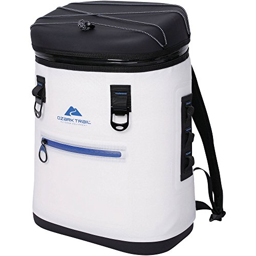 Ozark Trail Premium Backpack Cooler/White
