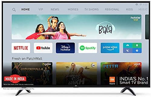 Mi 4X 138.8 cm (55 Inches) Ultra HD Android LED TV (Black)