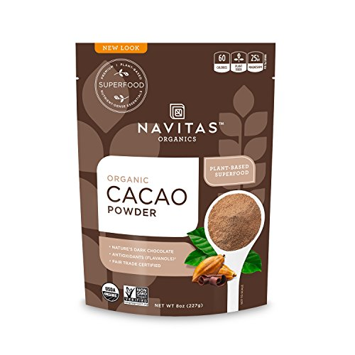 Navitas Organics Cacao Powder, 8 oz. Bag