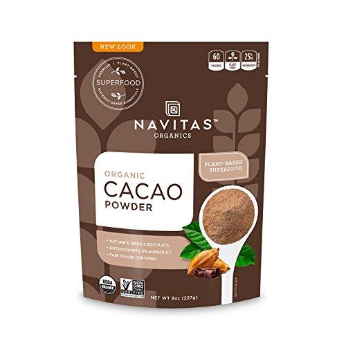 Navitas Organics Cacao Powder, 8 oz. Bag
