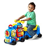 VTech Sit-to-Stand Ultimate Alphabet Train Amazon Exclusive, Blue