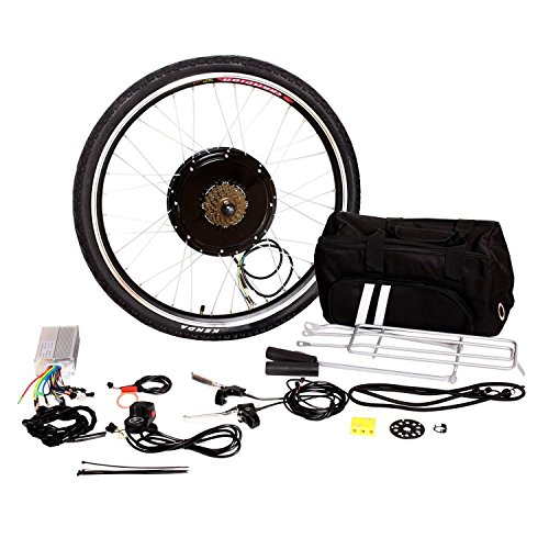 "Tenive 48v 1000w E Bike Electric Bicycle Hub Motor Conversion Kit 26"", Rear Wheel (Battery not included)"