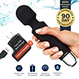 Personal Mini Wand Massager by Yarosi | Strongest Cordless Handheld Vibrating Power | Best Rated for Travel Gift | Magic Stress Away | Perfect Vibrate on Neck, Back, Foot, Hand Pains & Sports Injury