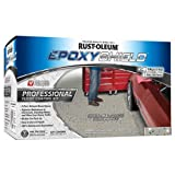 Rust-Oleum 203373 Professional Floor Coating Kit, Silver Gray, 1 Pack,