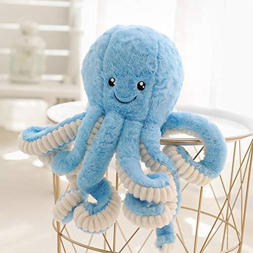 DENTRUN OctopusPlush Doll,StuffedAnimalOctopus Education Play Toys Plush Pillowfor KidsGirl BoyBirthday Xmas Gift Present 7/16/24/32Inches,5 Colors
