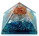 Elite Orgone - Opalite Crystal Orgone pyramid | EMF Protection & Energy Generator | Meditation Yoga | A Solution for Negative Energy & Chakra Healing