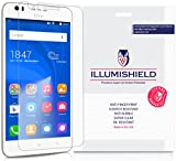 iLLumiShield Screen Protector Compatible with HTC Desire 10 Lifestyle (3-Pack) Clear HD Shield Anti-Bubble and Anti-Fingerprint PET Film