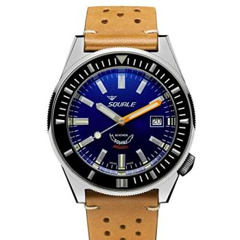 SQUALE Matic Dark Blue 60 Atmos Men's Swiss Diver 600M Watch