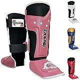 Farabi Kids shin pads shin instep Junior muay thai MMA shin pads shin instep leg and foot protector