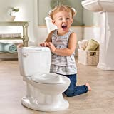 Summer My Size Potty, White - Realistic Potty Training Toilet Looks and Feels Like an Adult Toilet - Easy to Empty and Clean