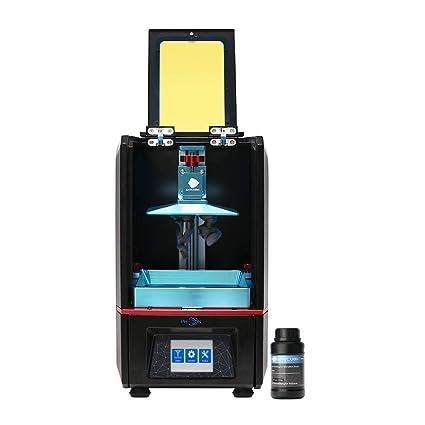 triorilla anycubic lculc搁置 uv 3d 打印机, 离线打印触摸屏, 高分辨率, 建筑面积 115x65x115 mm