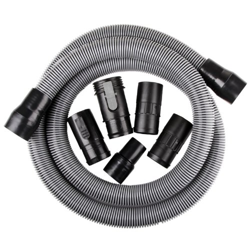 WORKSHOP Wet Dry Vacuum Accessories WS17823A Wet Dry Vacuum Hose, 1-7/8-Inch x 10-Feet Heavy Duty Contractor Wet Dry Vac Hose for Wet Dry Shop Vacuums