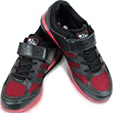 Nordic Lifting Weightlifting Shoes Ideal for Crossfit & Gym - Men's Sneakers - VENJA 1 Year Warranty (10 US, Black)