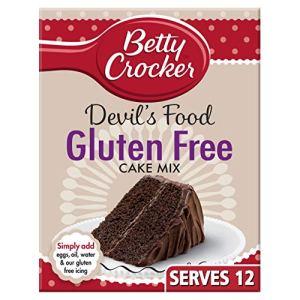 Betty Crocker Gluten Free Devil's Food Chocolate Cake Mix 425g (Pack of 6) 51yK8Lw5z5L