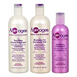 Aphogee Trio Two-Step Protein Treatment Bundle with Shampoo for Damaged Hair and Balancing Moisturizer, 16 oz