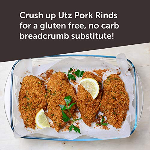Utz Pork Rinds, Original Flavor - Keto Friendly Snack with Zero Carbs per Serving, Light and Airy Chicharrones with the Perfect Amount of Salt, 18 Ounce (Pack of 2) 5
