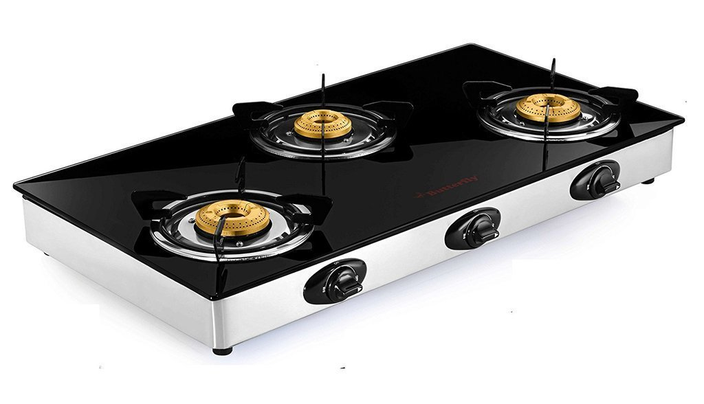 Butterfly Grand 2 Burner Glass Gas Stove Buy Online In Jamaica At Desertcart
