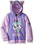 Nickelodeon Paw Patrol Little Girls' Everest Toddler Hoodie, Lilac/Purple, 2T
