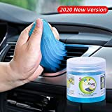 King Ma Car Interior Cleaner-Keyboard Cleaning Gel for Car Detailing Tools Automotive Dust Air Vent Detail Removal Detailing Putty Universal Dust Cleaner for Auto Laptop Home (Blue)