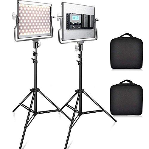 FOSITAN L4500 Bi-color LED Video Light Kit Series