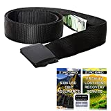 Travel Security Belt - Hidden Money Belt, Anti Theft Travel Belt TSA Approved