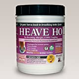 Product review for Equine Horse Heave Ho for Heaves, Chronically Allergic Airway, COPD, Asthma Flavor: Molasse