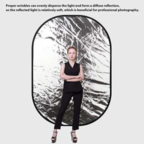 Photography-Backdrop-Heorryn-4-in-1-Collapsible-Reversible-Background-Panel-5x7ft-Chromakey-White-Black-Screen-with-Carry-Bag-100-CottonMuslin