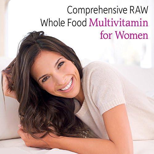 Garden of Life Multivitamin for Women, Vitamin Code Women's Multi - 120 Capsules, Whole Food Womens Multi, Vitamins, Iron, Folate not Folic Acid & Probiotics for Womens Energy, Vegetarian Supplements 4