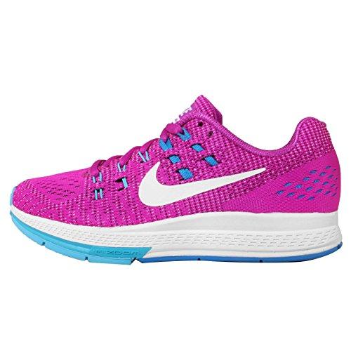 Nike Women's Wmns Air Zoom Structure 19, HYPER VIOLET/WHITE-GAMMA BLUE-PHOTO BLUE, 5 US