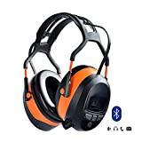 Gardtech Bluetooth FM Stereo Hearing Protector Ear Protector Safety Earmuffs SNR 29DB with LCD Display and 4G SD Card