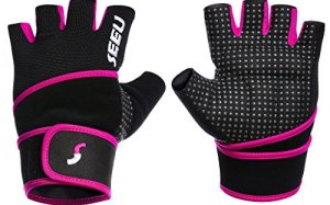SEEU Women's Cross Training Gloves with 17.5