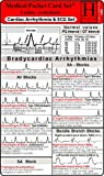 Cardiac Arrhythmia + ECG Set / Medical Pocket Card Set consisting of: 1. Cardiac Arrhythmia, 2. ECG Analysis / Instructiuon