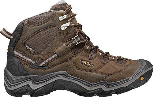 KEEN Men's Durand Mid Waterproof Hiking Boot,Cascade Brown/Gargoyle,7.5 M US
