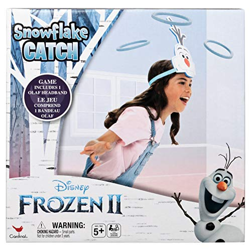 Disney Frozen 2 Up & Active Olaf Snowflake Catch Game for Kids