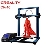 Creality Open Source CR-10 DIY kits 3D Printer All Metal Frame 12x12x15.5 Inch Build Volume and Heated Bed Includes Glass Bed