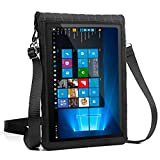 USA Gear 12-Inch Tablet Case Neoprene Sleeve Cover w/Built-in Screen Protector & Carry Strap X T12 Fits Galaxy Book 10.6' / Huawei MateBook 12' / Lenovo Ideapad Miix 700, More 12' Tablets