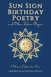Sun Sign Birthday Poetry: Zodiac