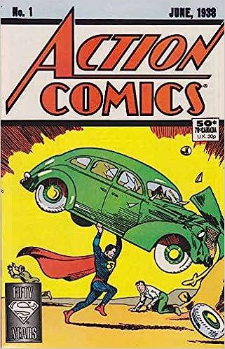 Amazon.com: Action Comics #1 (50th Anniversary Reprint Edition): DC Comics:  Books