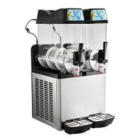 Happybuy-Commercial-Slushy-Machine-400W-Stainless-Steel-Margarita-Smoothie-Frozen-Drink-Maker-Suitable-Perfect-for-Ice-Juice-Tea-Coffee-Making-24L-Sliver