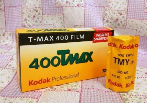 ダック モノクロフイルム T-MAX400 120 ブローニー 単品バラ売り