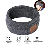 Sleep Headphones,Bluetooth Headband Sweatband,Sleep Headphones Bluetooth, Headband Headphones with Built -in Speakers, Sports Headband with Bluetooth Headphones for Sleeping, Running