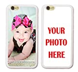 iPhone 8 Case, iPhone 7 Case, ArtsyCase Custom Personalized Picture Photo Phone Case for iPhone 7 and iPhone 8 (White)