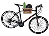 Cor Surf Bike Rack Wall | Bamboo Fold-Away Bicyle Mount | Made with Eco-Friendly Sustainable Bamboo