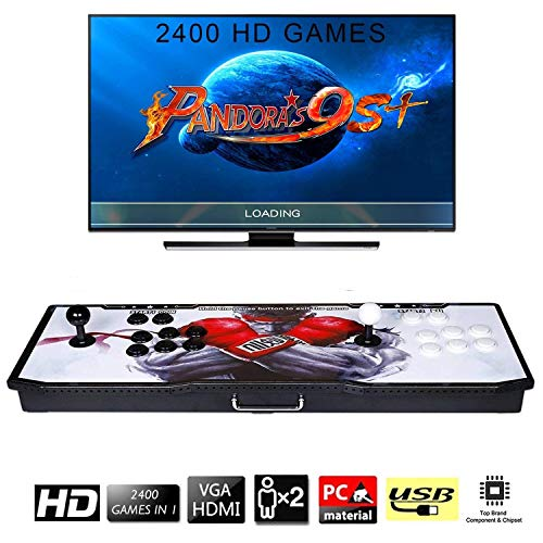 2400-Games-in-1-Arcade-Game-Console-Ultra-Slim-Metal-Double-Stick-2400-Classic-Arcade-2-Players-Pandoras-Box-9S-1280X720-Full-HD-Video-Game-Console-for-Computer-Projector-TV
