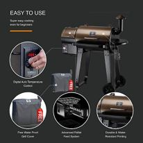 Z-GRILLS-ZPG-450A-2020-Upgrade-Wood-Pellet-Grill-Smoker-6-in-1-BBQ-Grill-Auto-Temperature-Control-450-Sq-in-Bronze